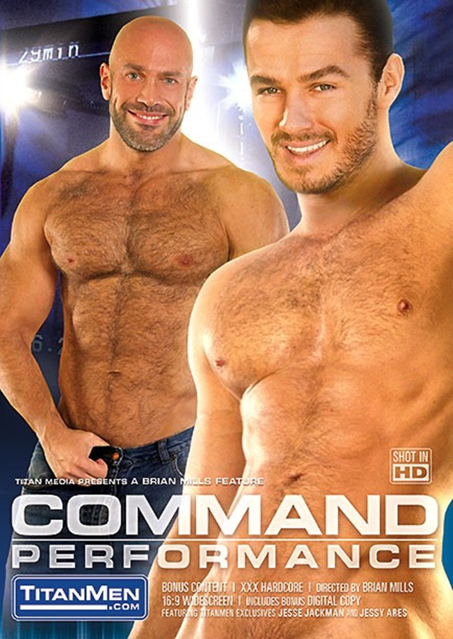 Titan Men Command HD DVD starring Roman Wright Jesse Jackman Titan Men: Jesse Jackman with Roman Wright