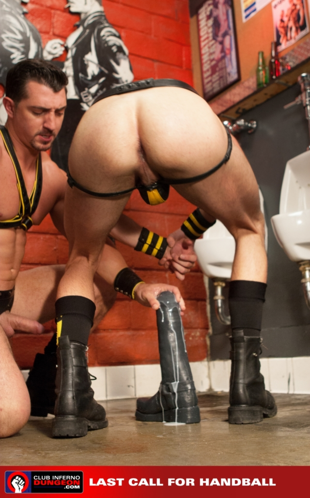 Sexy stud Seth is a trooper on his first go taking Gage's ass pounding very well