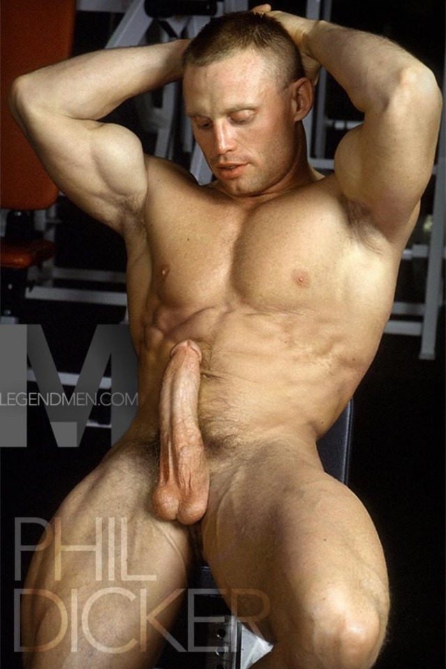 hot men nude Muscular