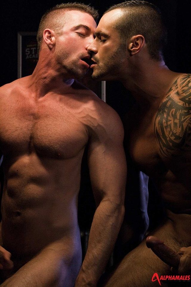 alphamales  Scott Hunter and Issac Jones