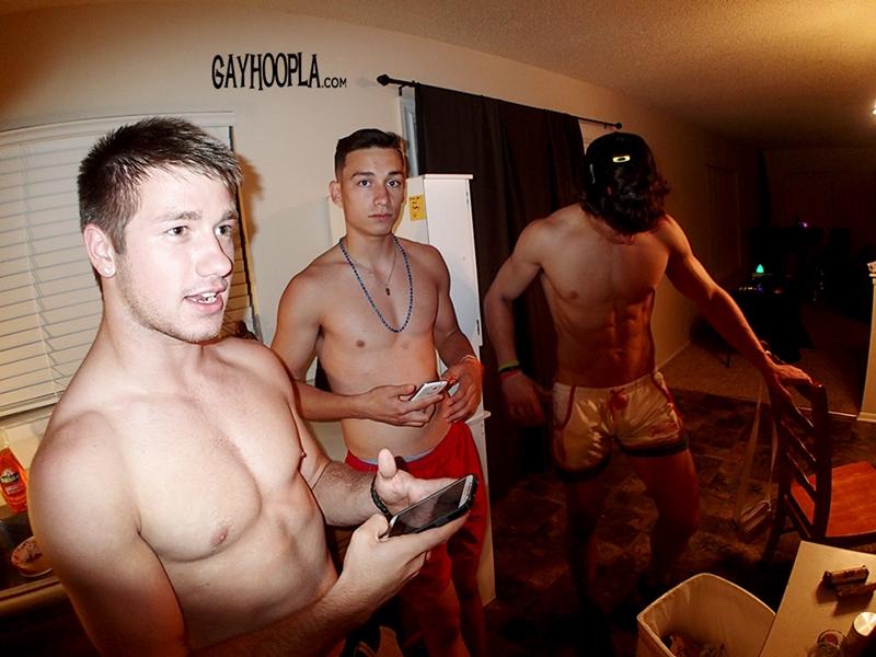 ... : gayhoopla Hunter Gage, Brad Spear, Seth Rose and Thomas Diaz photo: nuderdudeblog.com