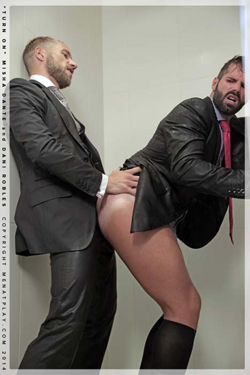 muscle men 2 men at play  Dani Robles and Misha Dante