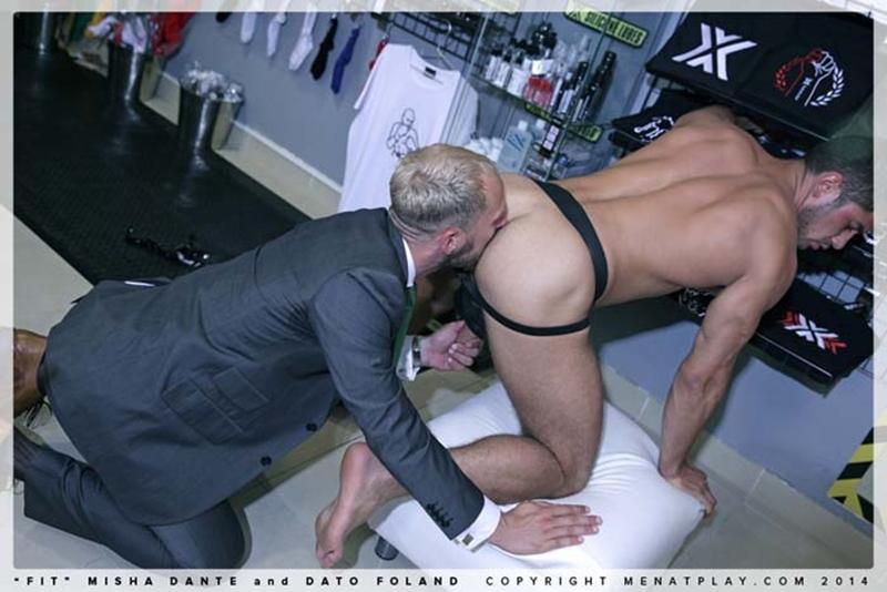 muscle men 2 men at play  Dato Foland and Misha Dante