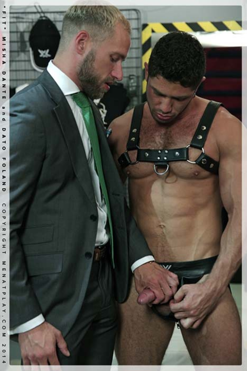 muscle men 2 men at play  Dato Foland and Misha Dante