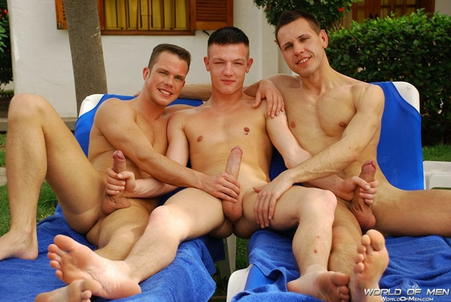 world of men  Johan Volny, Kai Cruz and Max Hudson