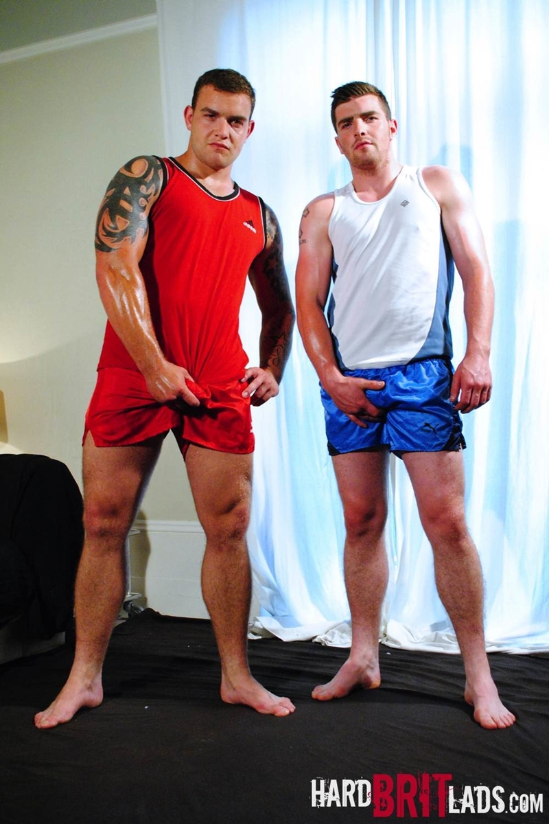 hard brit lads  Lee Andrews and Sean Andrews