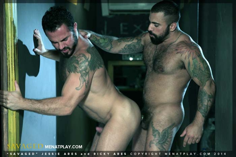 muscle men 2 men at play  Jessy Ares and Ricky Ares