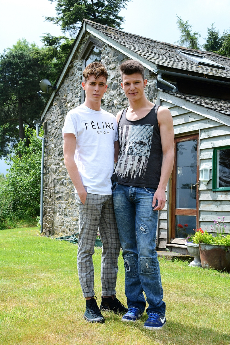 staxus Gabriel Angel and Louis Blakeson