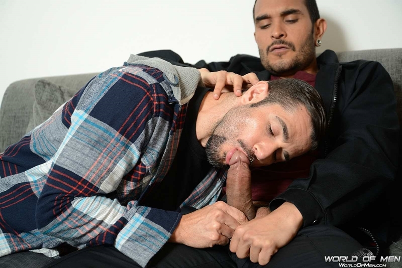 world of men  Lucio Saints and Dean Monroe