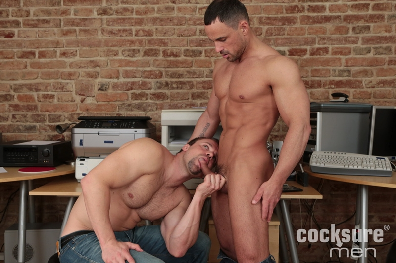 Andy West goes for a bareback ride on Jack Braver's raw pole