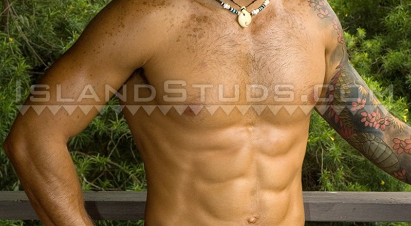 IslandStuds-Rico-sexy-hairy-chest-Latino-thick-uncut-cock-ripped-6-pack-abs-naked-black-real-rough-man-jerks-huge-cumshot-public-001-gay-porn-sex-gallery-pics-video-photo-1