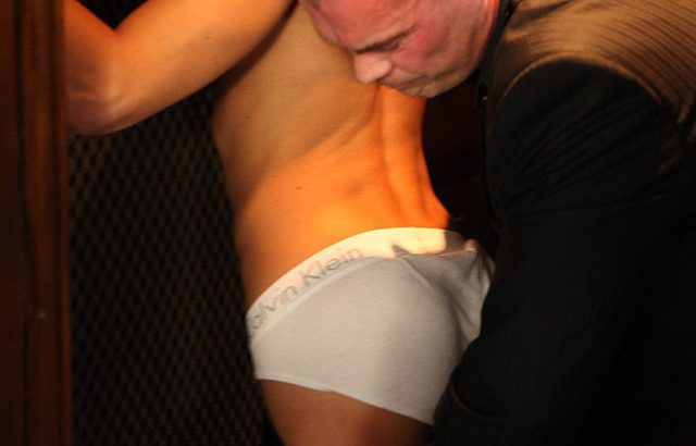 Hot young ripped dude James Huntsman fucks Markie More's tight asshole with his big dick