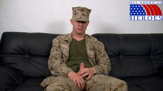Straight naked men Lance Corporal Scott