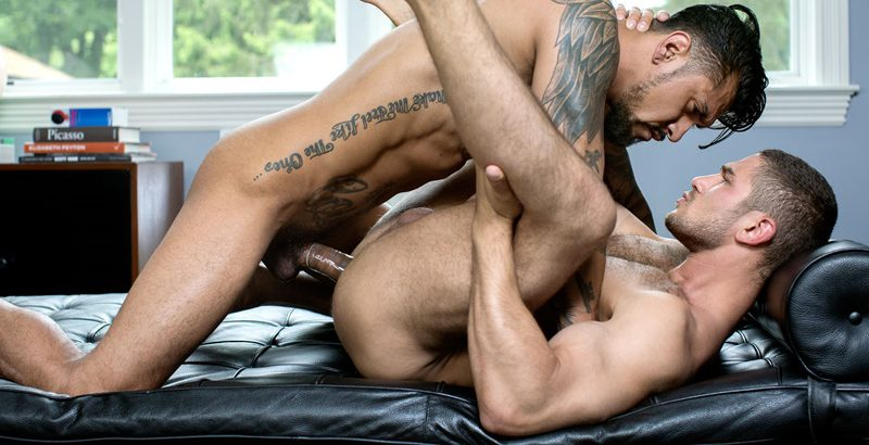 Hot naked hardcore ass fucking threesome with Jarrod Lanvin, Bastian Duffy and Jason Bacall