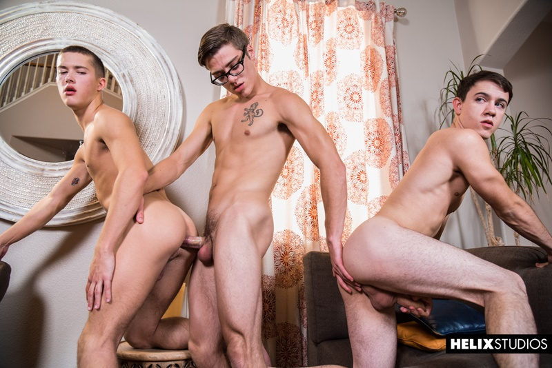 Hot ripped 22 year old straight hottie Brian Tanner strips naked and jerks his big dick
