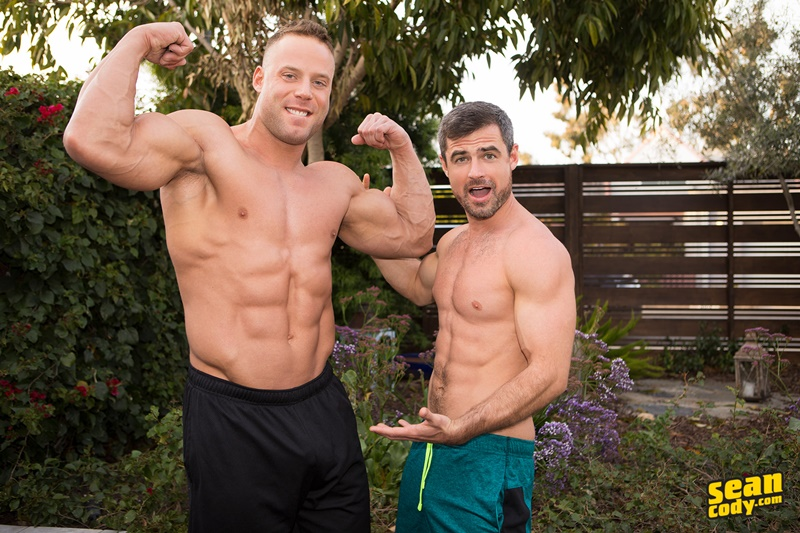 Sean Cody Daniel is amazed at the size of Jack's huge dick