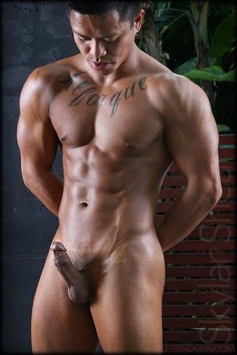 from Brenden black gay hot man muscular video