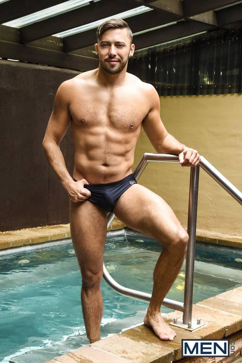 Men for Men Blog Justin-Matthews-and-Shane-Jackson-dildo-ass-play-Men-com-005-gay-porn-pics-gallery Justin Matthews is shocked to find Shane Jackson in the pool taking a huge dildo up his ass Men