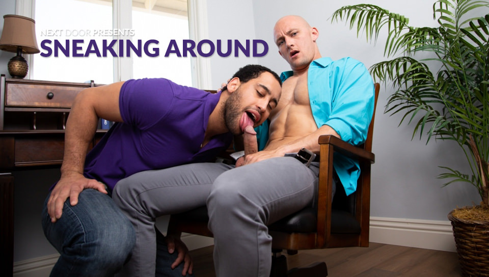 Men for Men Blog 70681_01_01 Donte Thick gives Lance Ford the bareback fuck of his life pounding his hot ass every way he can Next Door World