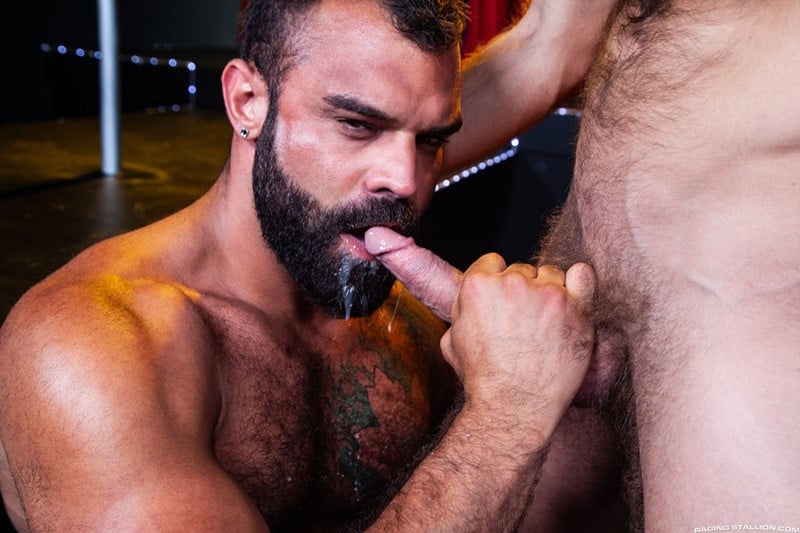 Men for Men Blog James-Stevens-Drake-Masters-hot-tattooed-big-muscle-dudes-cocksucking-huge-throbbing-cock-RagingStallion-015-gay-porn-pictures-gallery James Stevens loves the way Drake Masters' mouth feels wrapped around his huge throbbing cock Raging Stallion