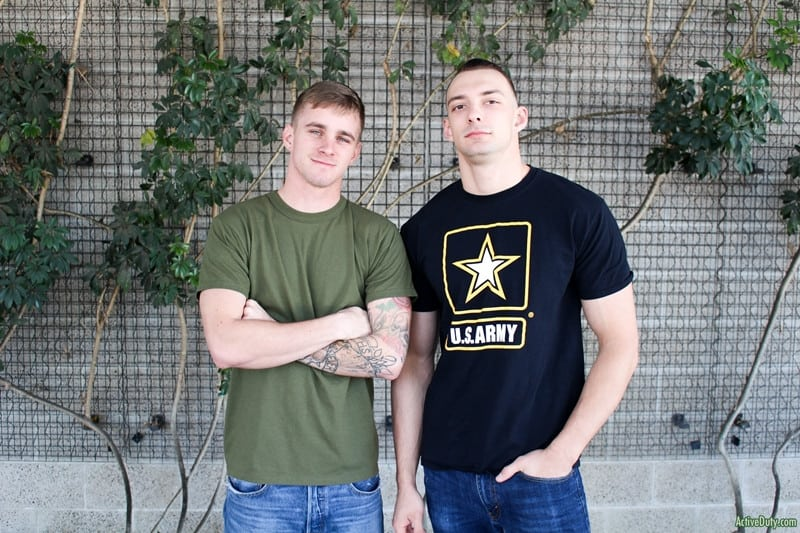 Men for Men Blog Ryan-Jordan-Johnny-B-Sexed-up-army-boys-big-thick-dick-horny-Blow-Job-ActiveDuty-002-gay-porn-pictures-gallery Sexed up army boys Ryan Jordan and Johnny B are both so horny that they keep swapping BJs Active Duty