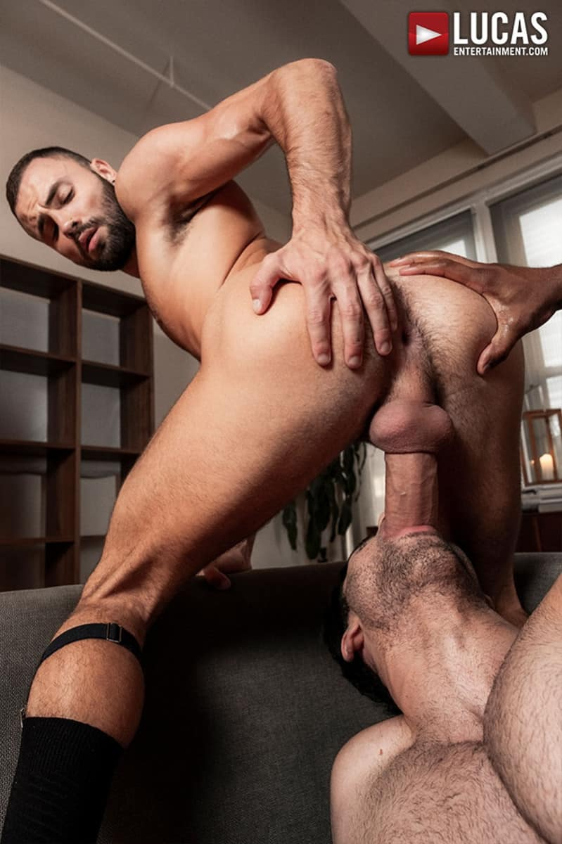 Men for Men Blog Sean-Xavier-Lucas-Leon-Jeffrey-Lloyd-Interracial-anal-fuck-suck-fest-big-cock-LucasEntertainment-020-gay-porn-pictures-gallery Interracial anal fuck and suck fest Sean Xavier and Lucas Leon persuade Jeffrey Lloyd to get his big beautiful cock out Lucas Entertainment