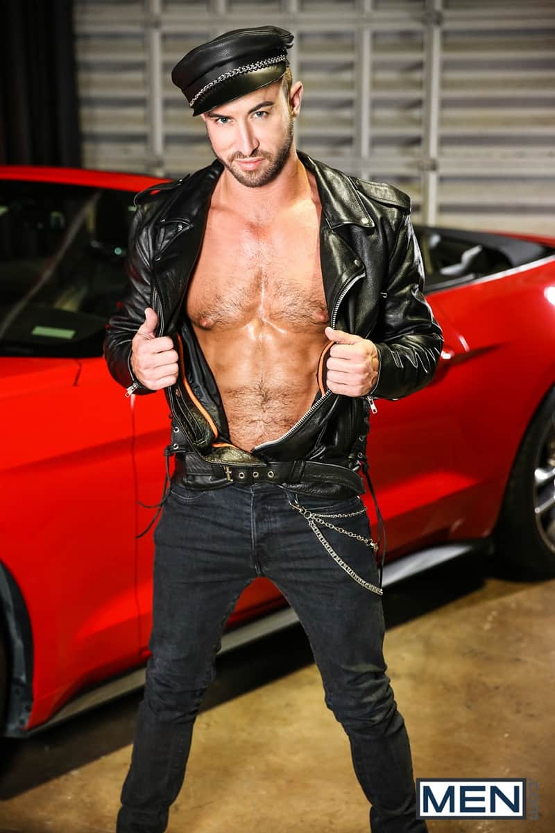 Men for Men Blog Vadim-Black-Grant-Ryan-strip-nude-sexy-dudes-sucking-huge-cocks-off-Men-003-gay-porn-pictures-gallery Vadim Black and Grant Ryan strip out of their leather driving gear sucking each other's huge cocks off Men