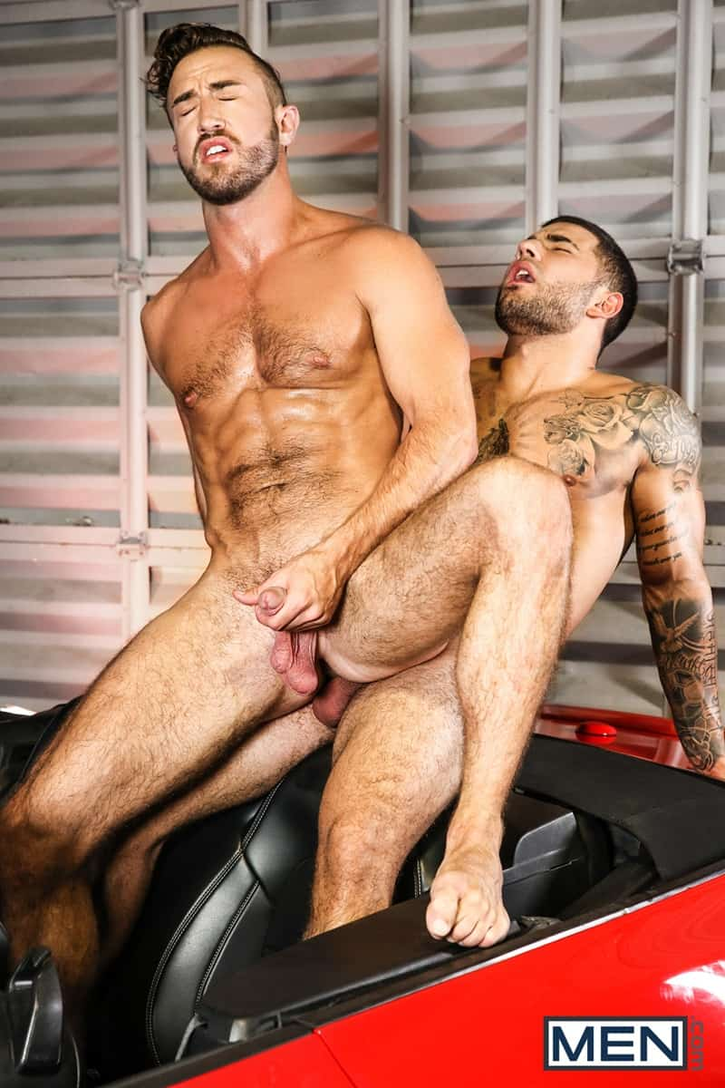 Men for Men Blog Vadim-Black-Grant-Ryan-strip-nude-sexy-dudes-sucking-huge-cocks-off-Men-014-gay-porn-pictures-gallery Vadim Black and Grant Ryan strip out of their leather driving gear sucking each other's huge cocks off Men
