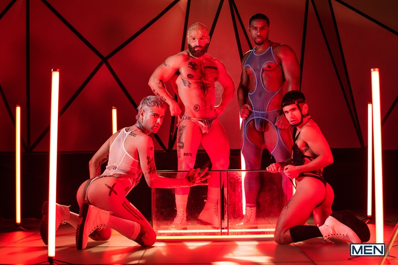Future sex with Ty Mitchell, Francois Sagat, Mickey Taylor and DeAngelo Jackson