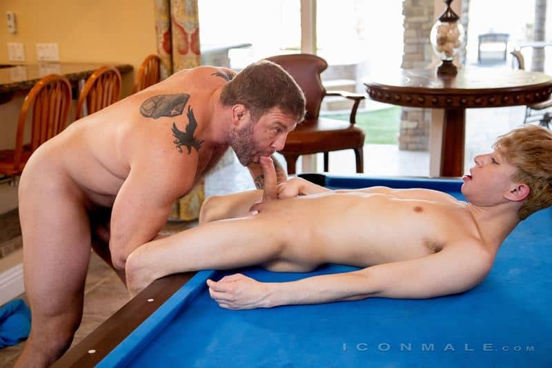 Older for younger Colby Jansen fucking young sexy dude Daniel Hausser's hot boy hole